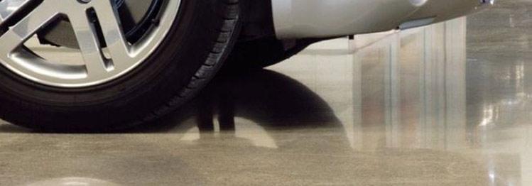 Austin TX Garage Concrete Polishing