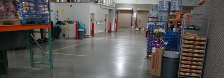Warehouse Concrete Polishing Services