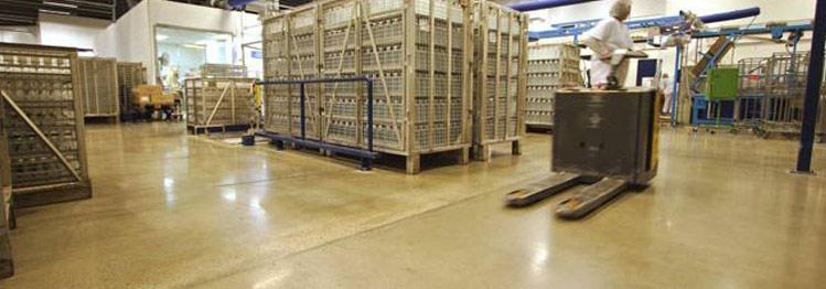 Factory Concrete Polishing Austin, TX